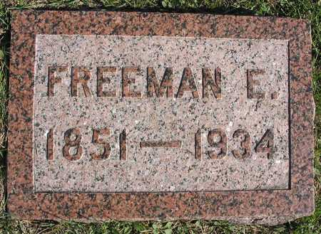 BROWN, FREEMAN E. - Linn County, Iowa | FREEMAN E. BROWN
