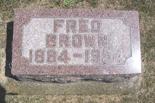 BROWN, FRED - Linn County, Iowa | FRED BROWN