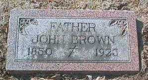 BROWN, JOHN - Linn County, Iowa | JOHN BROWN