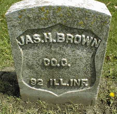 BROWN, JAS. H. - Linn County, Iowa | JAS. H. BROWN