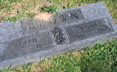BROWN, JENNIE - Linn County, Iowa | JENNIE BROWN