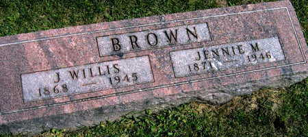 BROWN, J. WILLIS - Linn County, Iowa | J. WILLIS BROWN