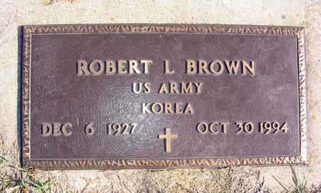 BROWN, ROBERT L. - Linn County, Iowa | ROBERT L. BROWN