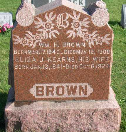 BROWN, WM. H. - Linn County, Iowa | WM. H. BROWN