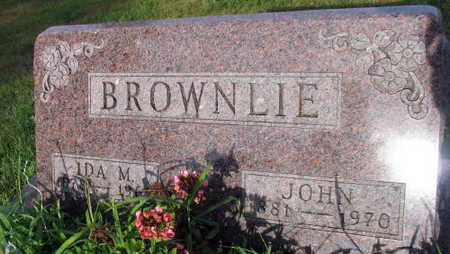 BROWNLIE, JOHN - Linn County, Iowa | JOHN BROWNLIE