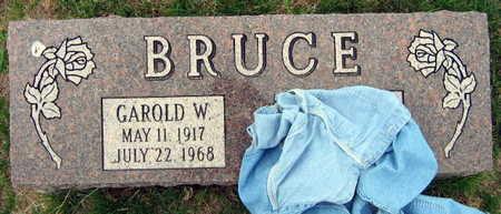 BRUCE, GAROLD W. - Linn County, Iowa | GAROLD W. BRUCE