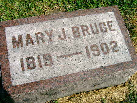BRUCE, MARY J. - Linn County, Iowa | MARY J. BRUCE