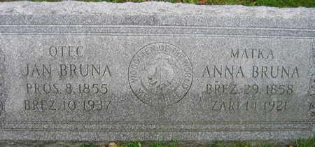 BRUNA, ANNA - Linn County, Iowa | ANNA BRUNA