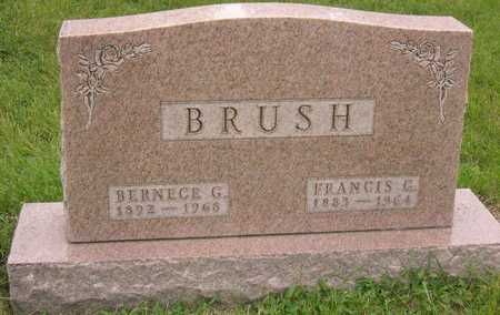 BRUSH, BERNECE G. - Linn County, Iowa | BERNECE G. BRUSH