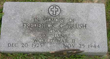 BRUSH, FREDERICK G. - Linn County, Iowa | FREDERICK G. BRUSH