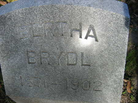BRYDL, BERTHA - Linn County, Iowa | BERTHA BRYDL
