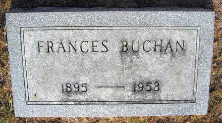 BUCHAN, FRANCES - Linn County, Iowa | FRANCES BUCHAN