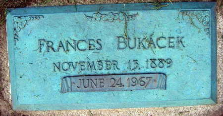 BUKACEK, FRANCES - Linn County, Iowa | FRANCES BUKACEK
