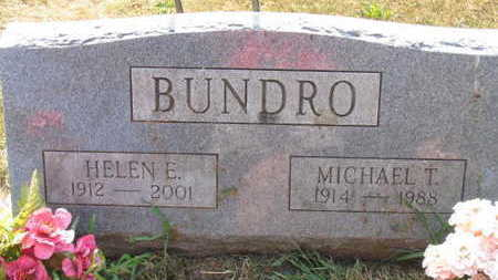 BUNDRO, MICHAEL T. - Linn County, Iowa | MICHAEL T. BUNDRO