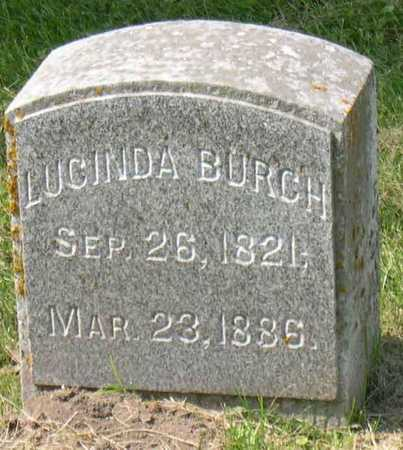 BURCH, LUCINDA - Linn County, Iowa | LUCINDA BURCH