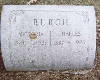 BURCH, CHARLES - Linn County, Iowa | CHARLES BURCH