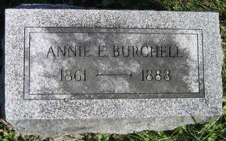 BURCHELL, ANNIE E. - Linn County, Iowa | ANNIE E. BURCHELL