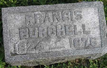 BURCHELL, FRANCIS - Linn County, Iowa | FRANCIS BURCHELL