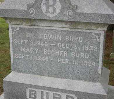 BOCHER BURD, MARY - Linn County, Iowa | MARY BOCHER BURD