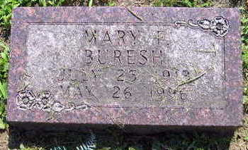 BURESH, MARY F. - Linn County, Iowa | MARY F. BURESH