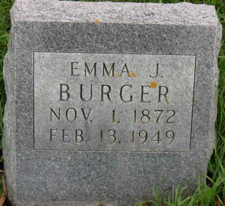 BURGER, EMMA J. - Linn County, Iowa | EMMA J. BURGER