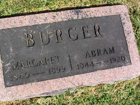 BURGER, ABRAM - Linn County, Iowa | ABRAM BURGER