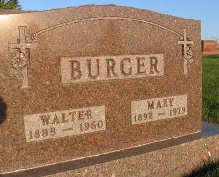 BURGER, MARY - Linn County, Iowa | MARY BURGER