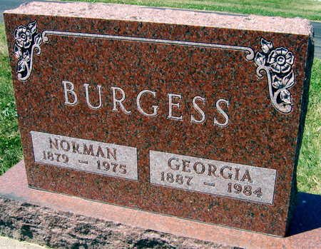 BURGESS, NORMAN - Linn County, Iowa | NORMAN BURGESS