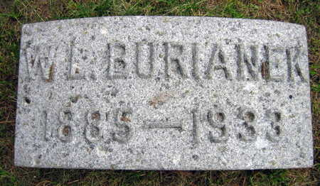 BURIANEK, W. L. - Linn County, Iowa | W. L. BURIANEK