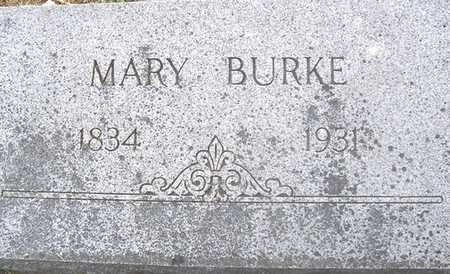 BURKE, MARY - Linn County, Iowa | MARY BURKE