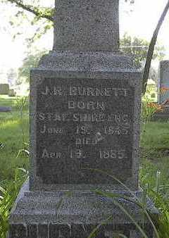 BURNETT, J. R. - Linn County, Iowa | J. R. BURNETT