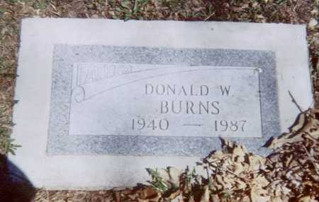 BURNS, DONALD W. - Linn County, Iowa | DONALD W. BURNS
