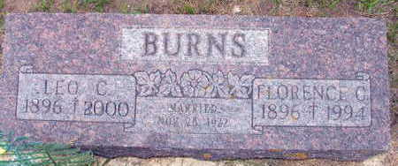 BURNS, FLORENCE C. - Linn County, Iowa | FLORENCE C. BURNS