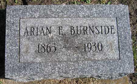 BURNSIDE, ARIAN E. - Linn County, Iowa | ARIAN E. BURNSIDE