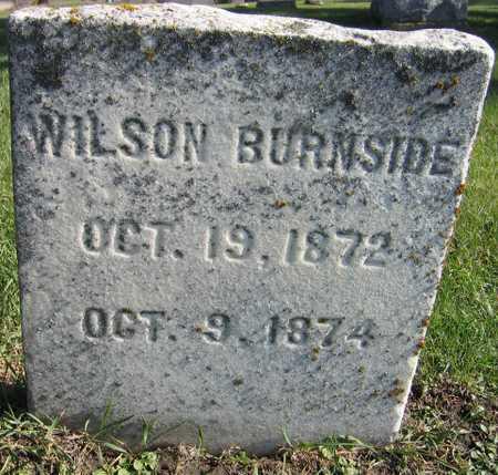 BURNSIDE, WILSON - Linn County, Iowa | WILSON BURNSIDE