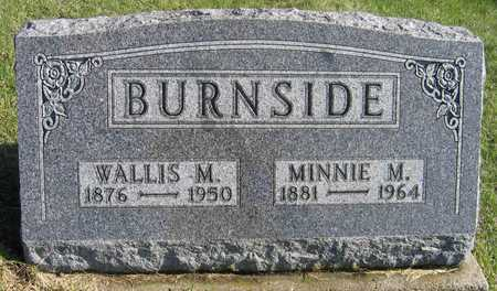 BURNSIDE, WALLIS M. - Linn County, Iowa | WALLIS M. BURNSIDE