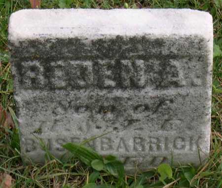BUSENBARRICK, REDEN A. - Linn County, Iowa | REDEN A. BUSENBARRICK