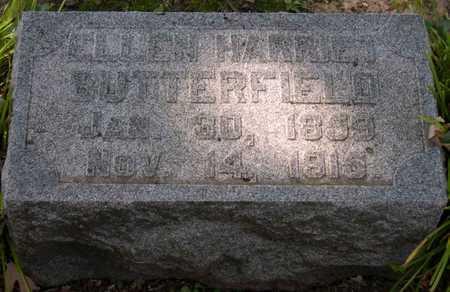 BUTTERFIELD, ELLEN HARRIET - Linn County, Iowa   ELLEN HARRIET BUTTERFIELD