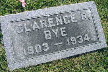 BYE, CLARENCE R. - Linn County, Iowa | CLARENCE R. BYE