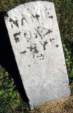 FOX BYE, MAMIE - Linn County, Iowa | MAMIE FOX BYE