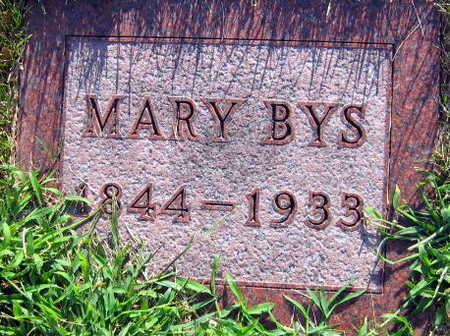 BYS, MARY - Linn County, Iowa | MARY BYS