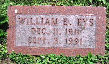 BYS, WILLIAM E. - Linn County, Iowa | WILLIAM E. BYS