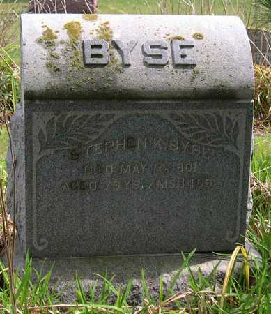 BYSE, STEPHEN K. - Linn County, Iowa | STEPHEN K. BYSE