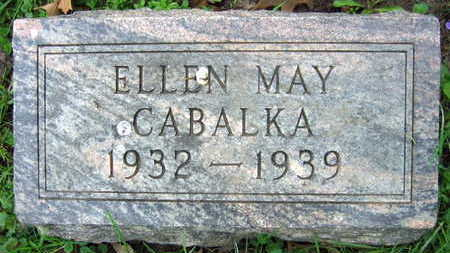 CABALKA, ELLEN MAY - Linn County, Iowa | ELLEN MAY CABALKA