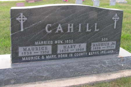 CAHILL, MARY F. - Linn County, Iowa | MARY F. CAHILL