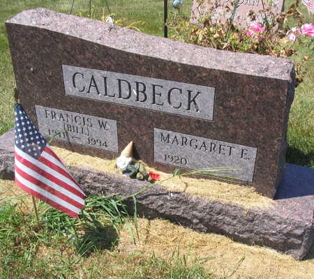 CALDBECK, FRANCIS W. (BILL) - Linn County, Iowa | FRANCIS W. (BILL) CALDBECK