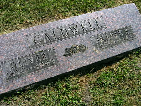 CALDWELL, JESSIE D. - Linn County, Iowa | JESSIE D. CALDWELL