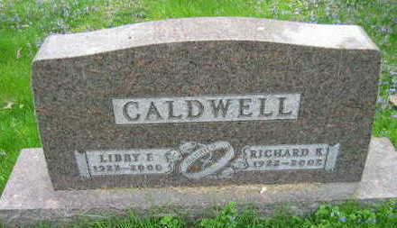 CALDWELL, RICHARD K. - Linn County, Iowa | RICHARD K. CALDWELL