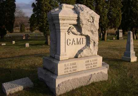 CAME, FAMILY STONE - Linn County, Iowa | FAMILY STONE CAME