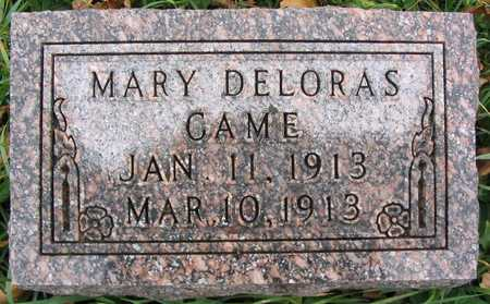 CAME, MARY DELORAS - Linn County, Iowa | MARY DELORAS CAME